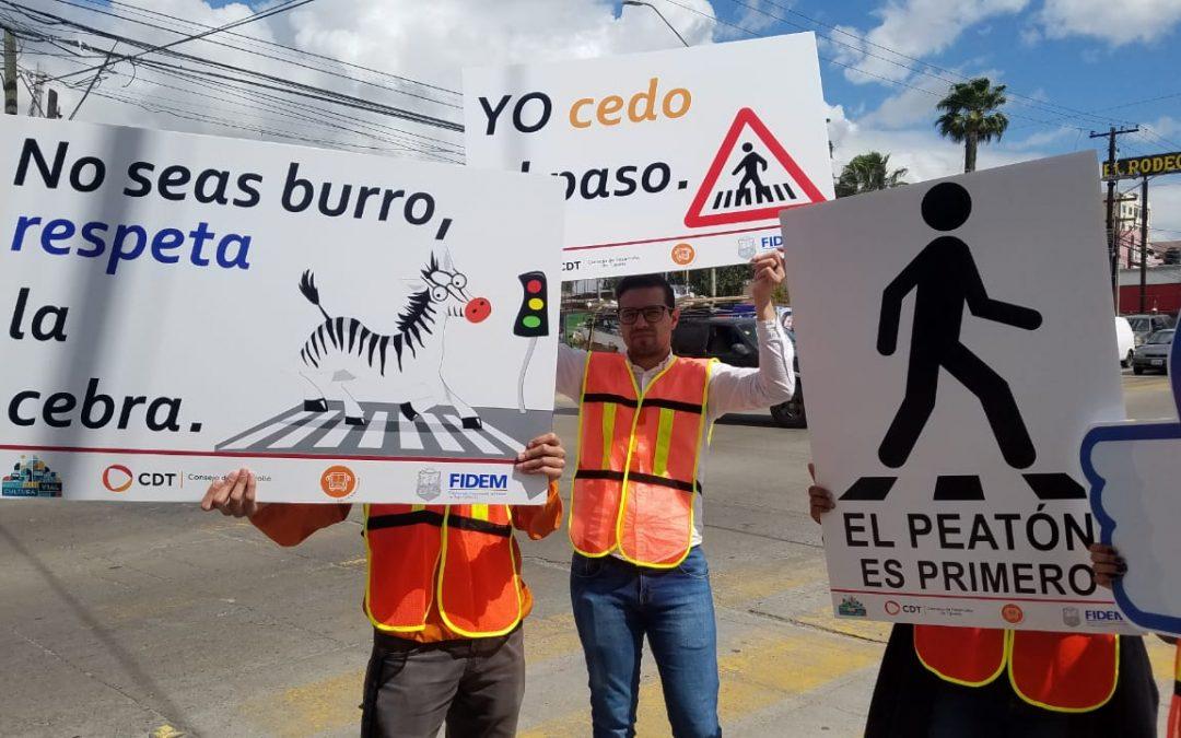Inicia campaña para generar conciencia vial