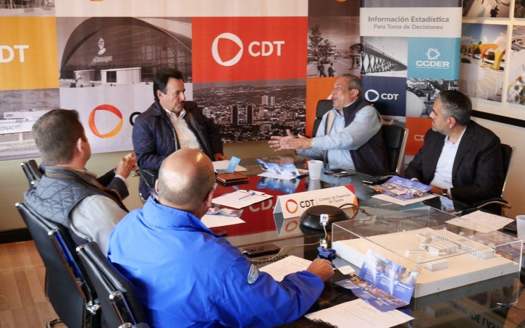 CDT continúa con presentación de proyectos a candidatos por la Presidencia Municipal de Tijuana