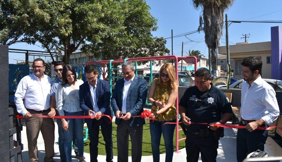 CDT inaugura Micro Parque en Colonia Federal