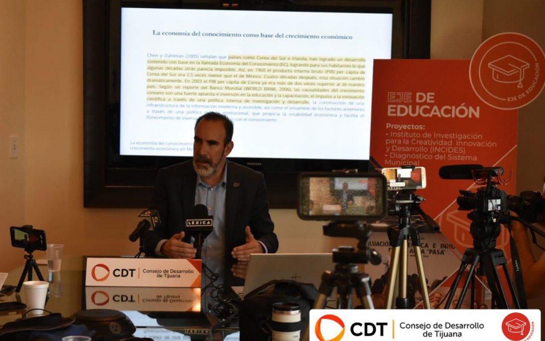 CDT promueve economía basada en el conocimiento