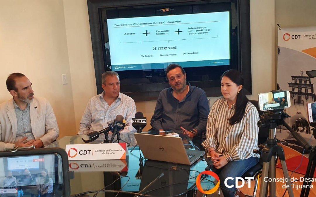 CDT continuará programa de concientización vial