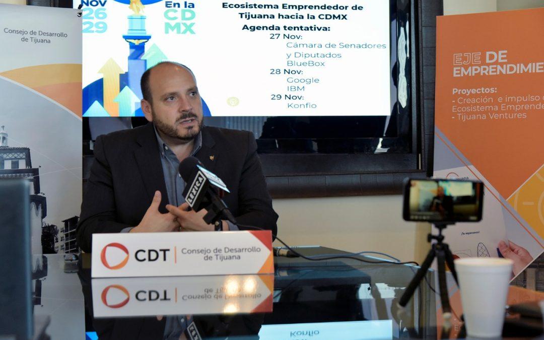 CDT convoca a emprendedores para participar en viaje a la Ciudad de México