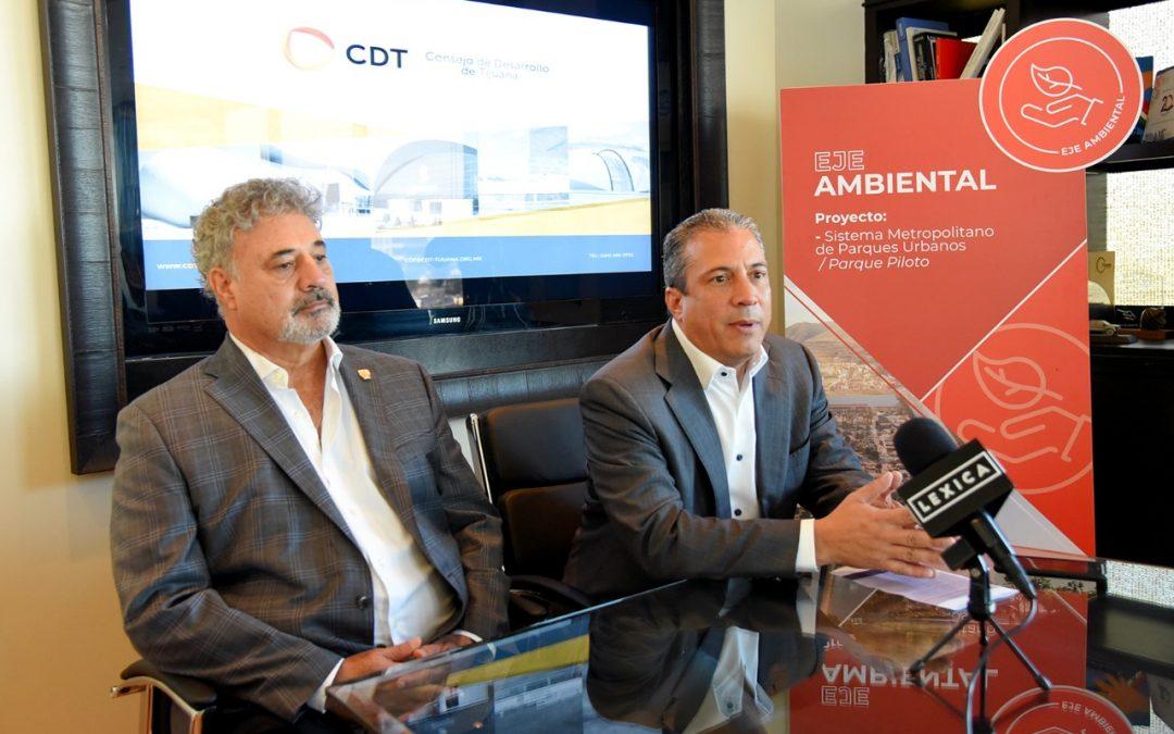 Avanza sistema de parques urbanos impulsado por CDT