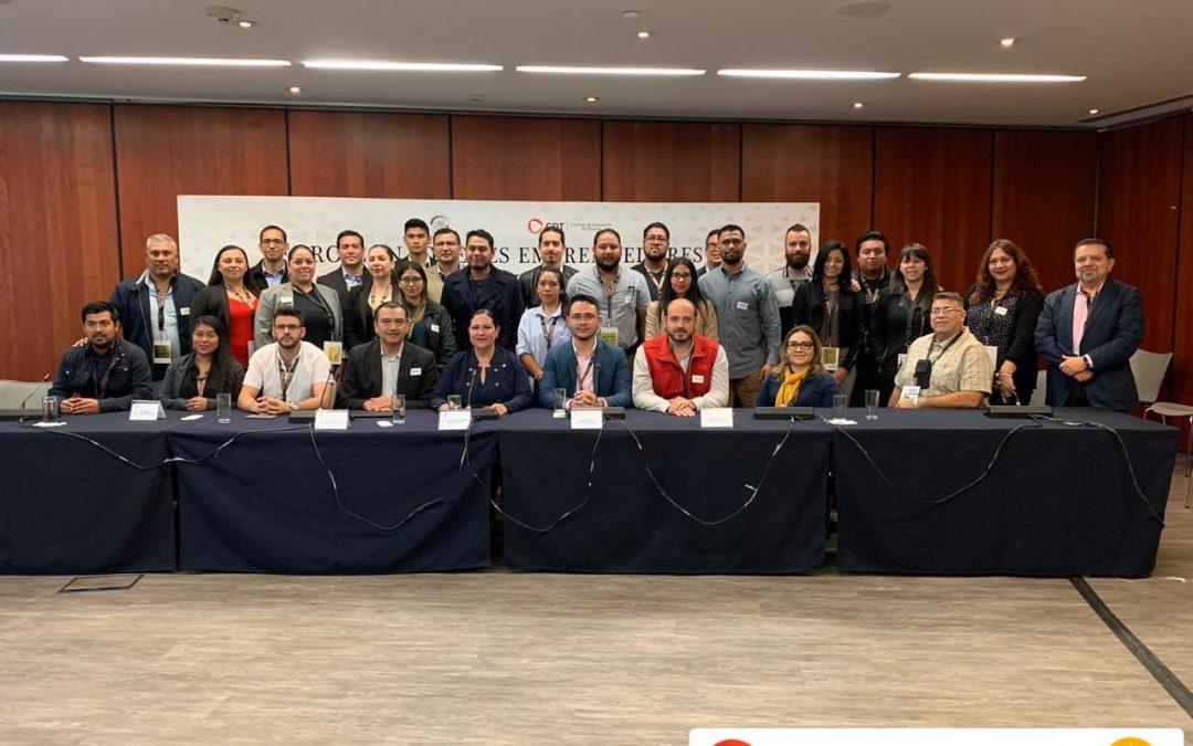 Emprendedores de BC se reúnen con legisladoras del Senado