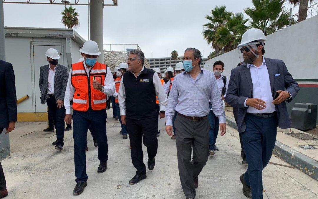 Ampliación de carriles en cruce fronterizo México – San Ysidro