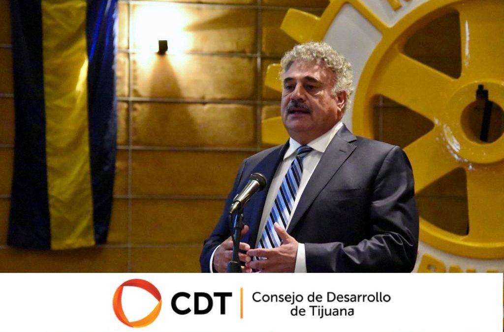 CDT COMPARTE CON ROTARIOS SU VISIÓN Y MISIÓN