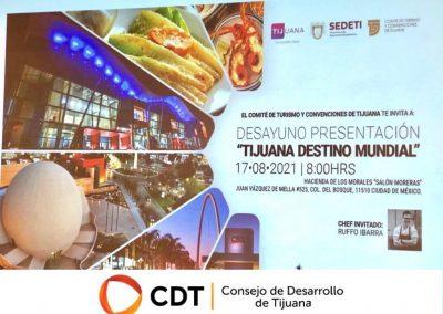 Promueve CDT a BC como destino turístico de excelencia
