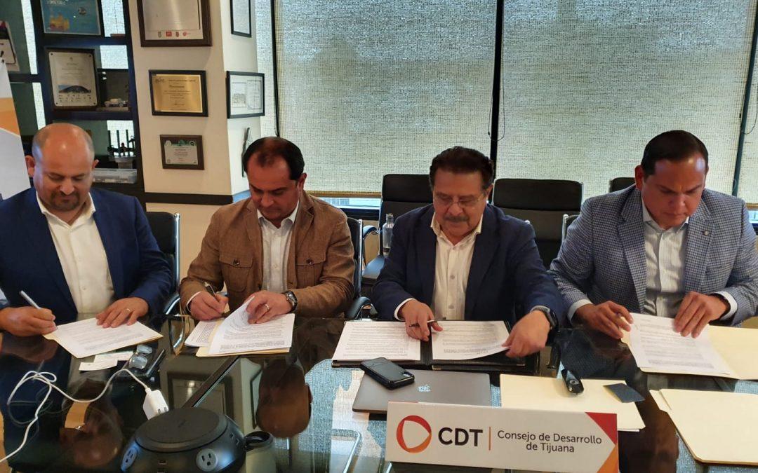 CDT, CANIETI, DEITAC y Red OTT México firman alianza para proyectos tecnológicos